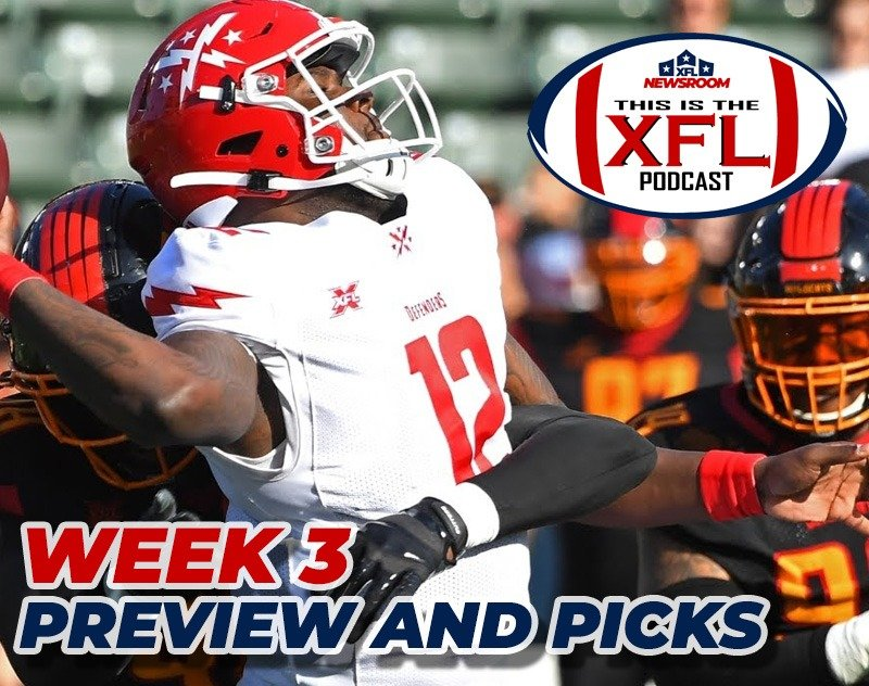 This is the XFL Podcast   Week 3 Recap and Rankings