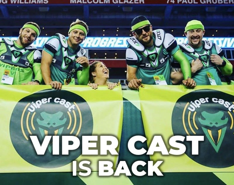 Viper Cast is Back   XFL Newsroom   Tampa Bay Vipers