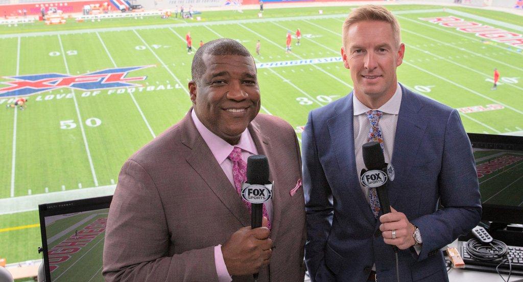 Curt Menefee & Joel Klatt - XFL Announcers