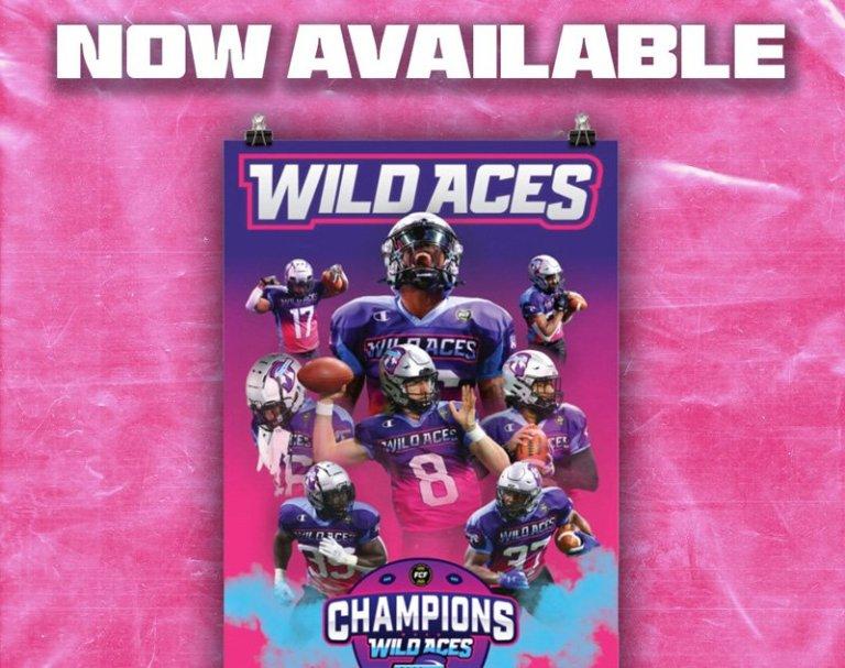 Wild Aces FCF People's Championship Merchandise Now On-Sale