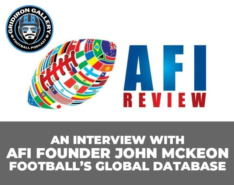 Football's Global Database - Interview with AFI's John McKeon