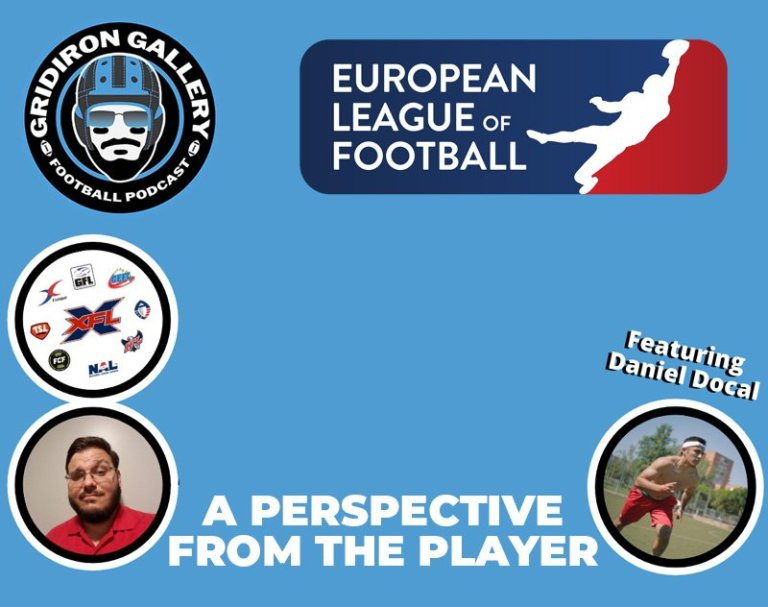 European League of Football - A Perspective From the Player with Daniel Docal