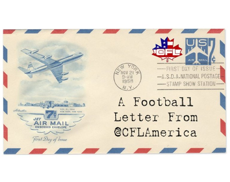 A Football Letter From CFL America