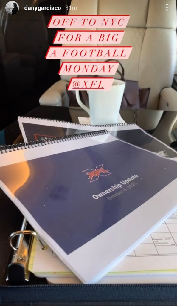 Dany Garcia Continues to Tease Upcoming XFL News