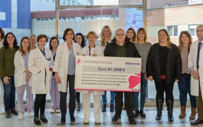 Donación de 1.500€ al grupo de la Dra. Isabel Tejada del Instituto de Investigación Sanitaria BioCruces