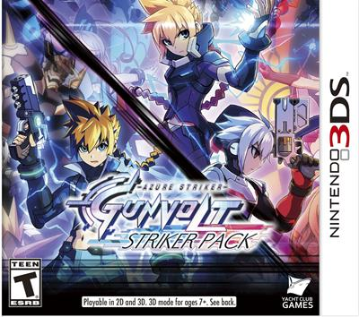 Portada-Descargar-Roms-3DS-azure-striker-gunvolt-striker-pack-jpn-3ds-Gateway3ds-Sky3ds-CIA-Emunad-xgamersx-xgamersx.com
