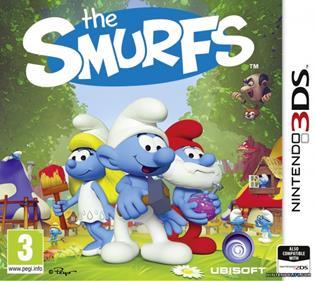 Portada-Descargar-Roms-3DS-Mega-The-Smurfs-EUR-3DS-Multi6-Espanol-Gateway3ds-Sky3ds-CIA-Emunad-xgamersx.com