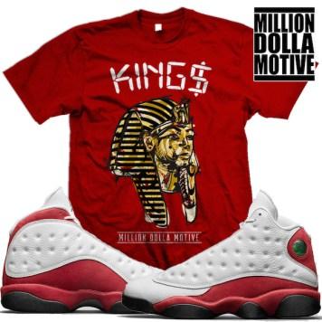 jordan-13-chicago-cherry-sneaker-tees-shirts-matching