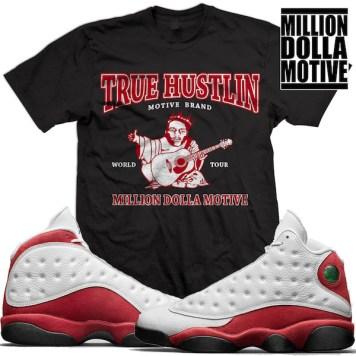 sneaker-shirts-jordan-13-chicago-cherry-match-tees