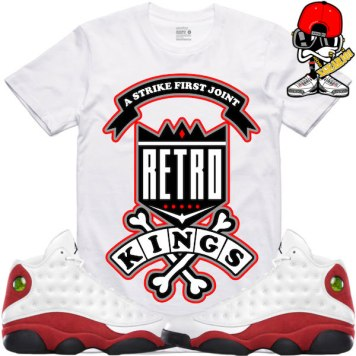 sneaker-tees-shirts-jordan-retro-13-cherry-chicago