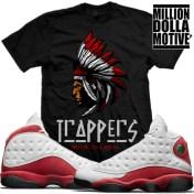 t-shirts-jordan-13-chicago-cherry-sneaker-tees