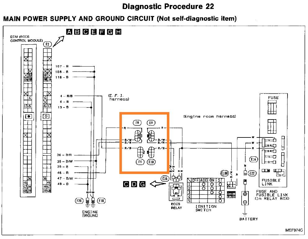 sr20ve distributor wiring diagram 33 wiring diagram KA24 Wiring Pin Out Diagram SR20 Wiring Pin Out Diagram