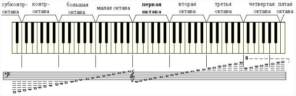 Ноты Малой Октавы Басовый Ключ - allegecustomer