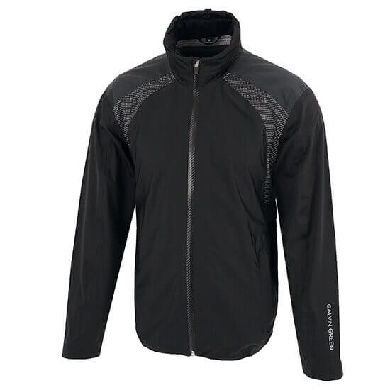 Galvin Green - Archie full zip gore-tex waterproof jacket in carbon black