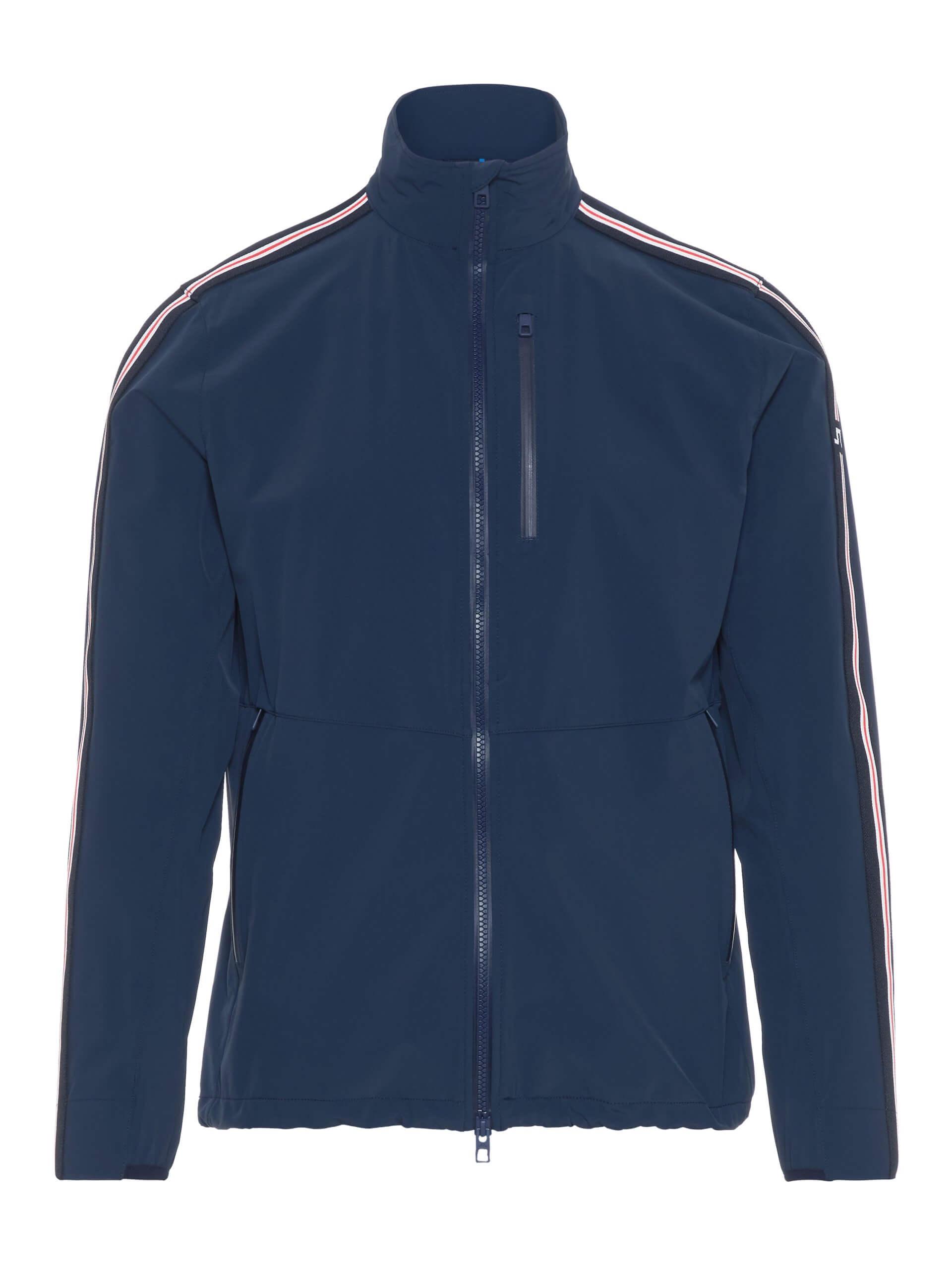 J.Lindeberg - Adapt Stripe Jacket in navy