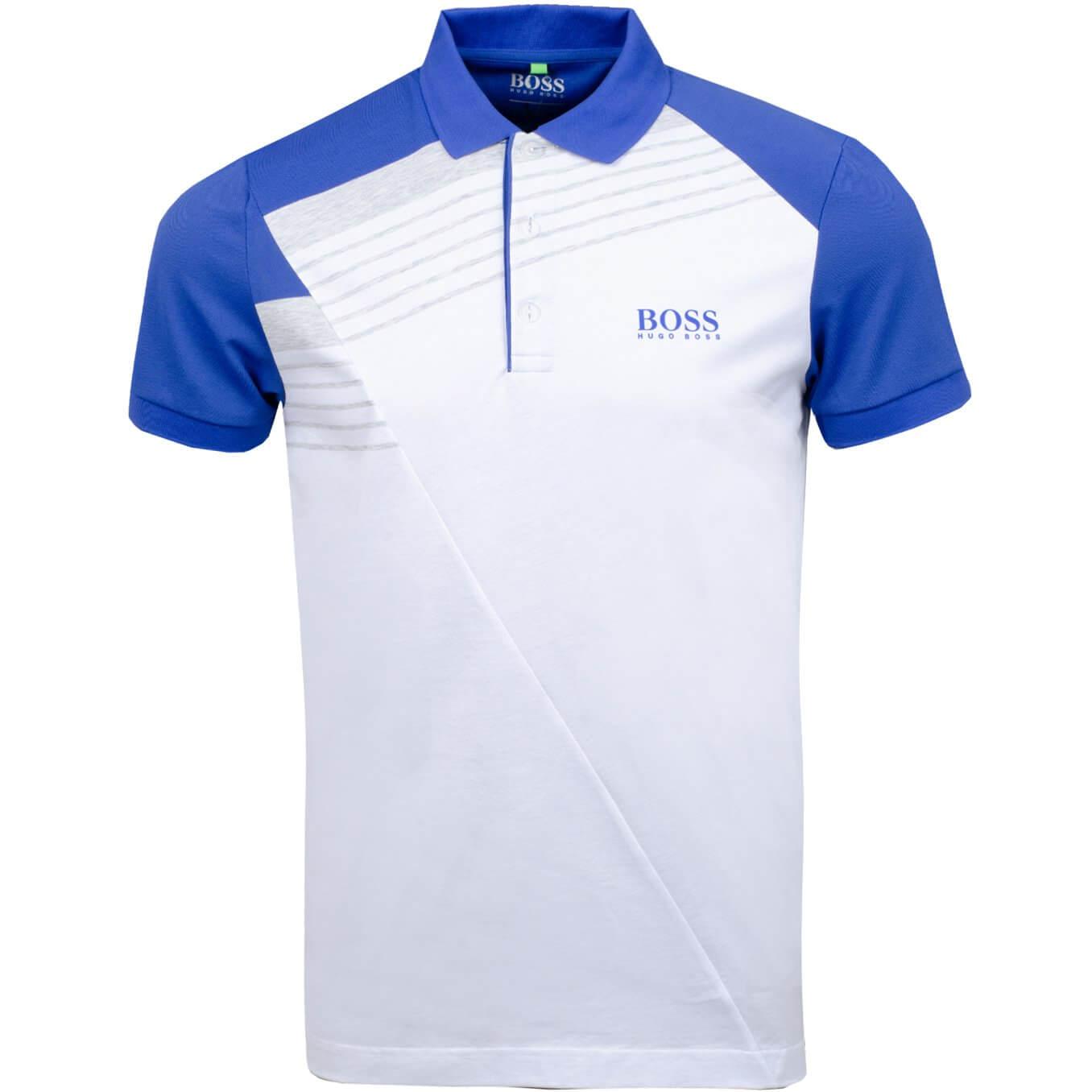 Hugo Boss - Paddy Pro 1 in white & Blue