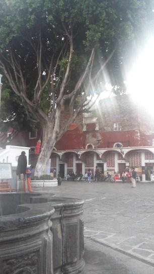 El Zócalo de la Ciudad de Puebla