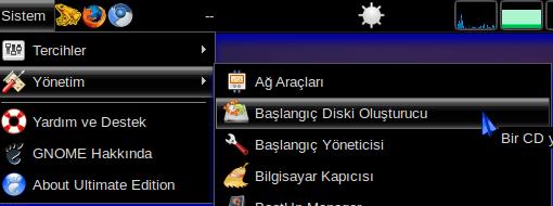 * USB Flash Diske Ubuntu Kurulumu Hazırlamak (5/6)