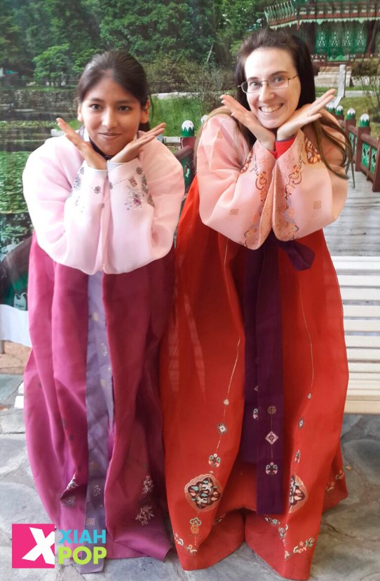 prueba de hanbok