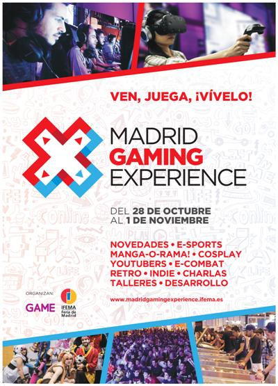Cartel Madrid Gaming Experience 2016