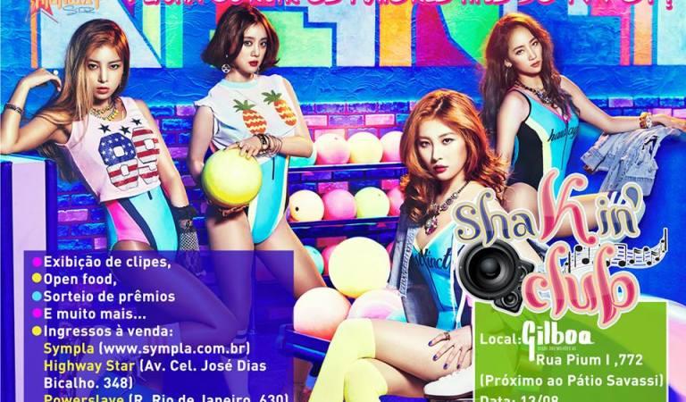 ShaKin' Club: 4ª edição da festa k-pop em Belo Horizonte