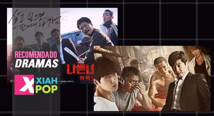 """Recomendación K-Dramas: """"Bad Guys """" y """"Bad Guys 2"""""""