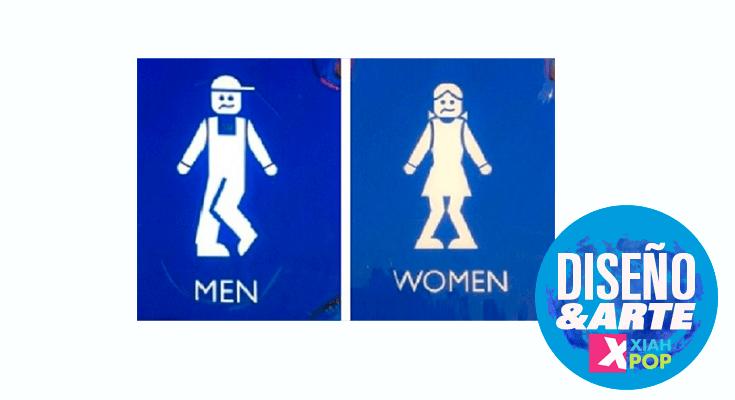 Los carteles de baños mas raros y divertidos de Japón
