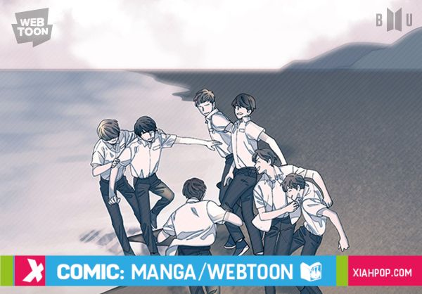 SAVE ME, el webcomic basado en el universo de BTS