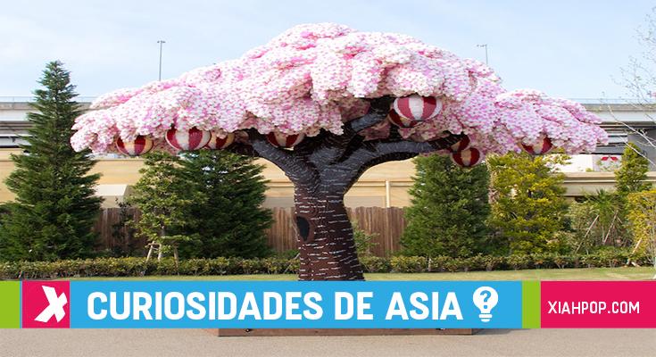 ¡Increíble árbol Sakura hecho con ladrillitos LEGO!