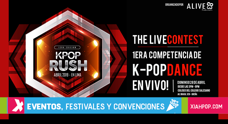 [Evento] KPOP RUSH, gran competencia de baile nunca antes vista en Perú