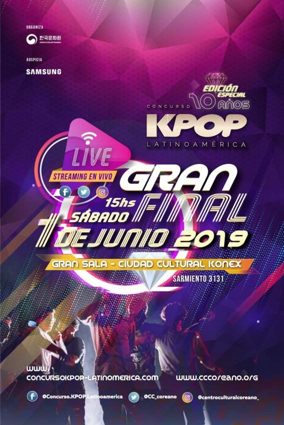 Concurso KPOP Latinoamérica Edición especial 10º aniversario