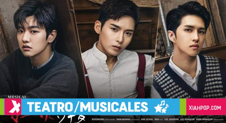 «Sonata of a Flame» El Musical con Ken, Ryeowook y Shin