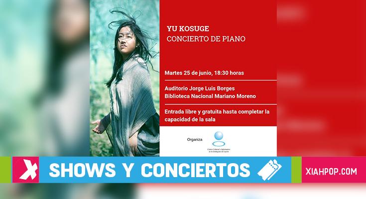 La pianista japonesa, Yu Kosuge, se presenta por 1ra vez en Argentina