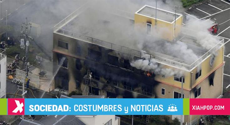 Información sobre el incendio de Kyoto Animation