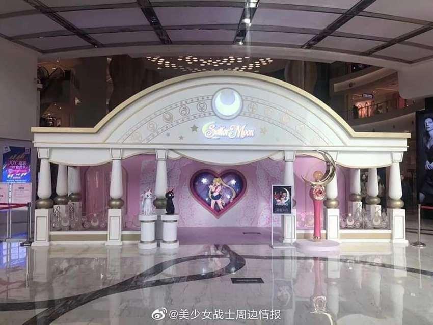 Impresionante store de Sailor Moon en Shanghai