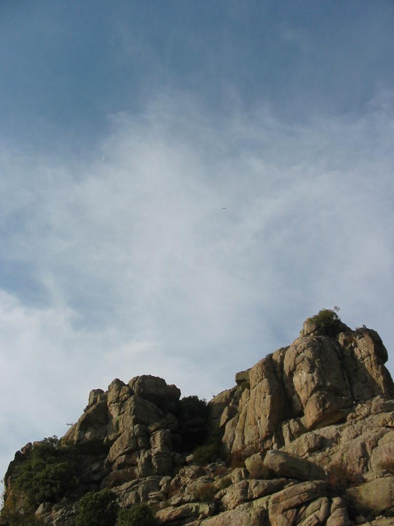 rock formation on El Yelmo