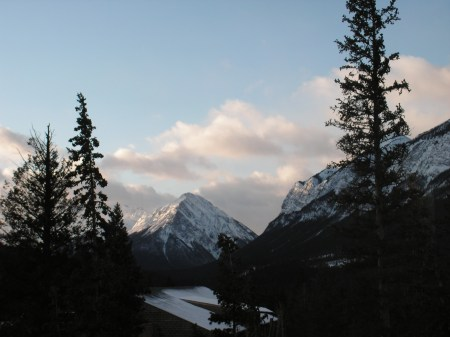 from Banff Centre cafetaria, Banff, March 21, 2012