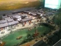 Model of the old West Market