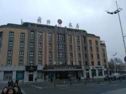 An old hotel in central Harbin, not sure how old.