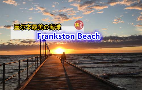 【墨尔本最美の海滩】青涩の海水 + 海鸥伴你左右 - Frankston Beach