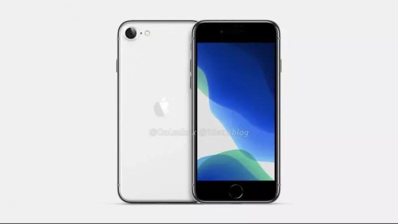 iPhone SE 2 - iPhone 9 - Onleaks