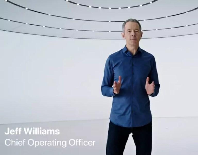 Jeff Williams ジェフ・ウィリアムズ COO