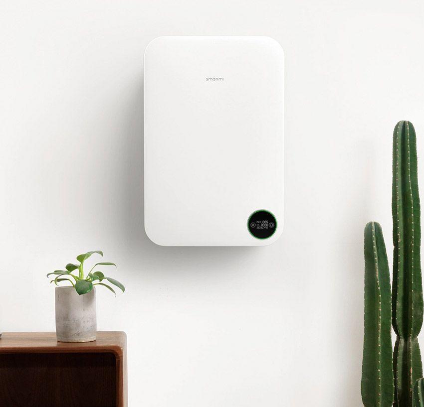 Крепление очистителя воздуха SmartMi на стене