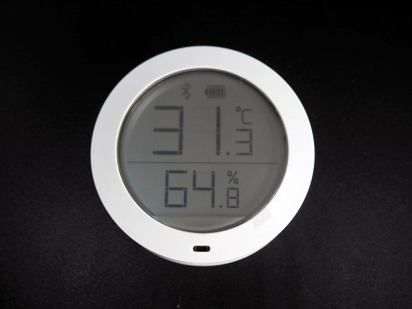 Экран Bluetooth датчика температуры Xiaomi