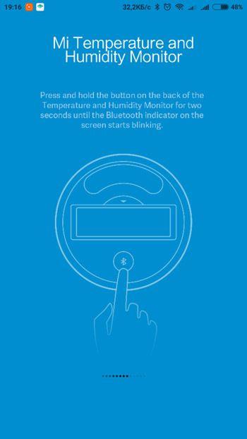 Инструкция подключения датчика температуры и влажности Mijia
