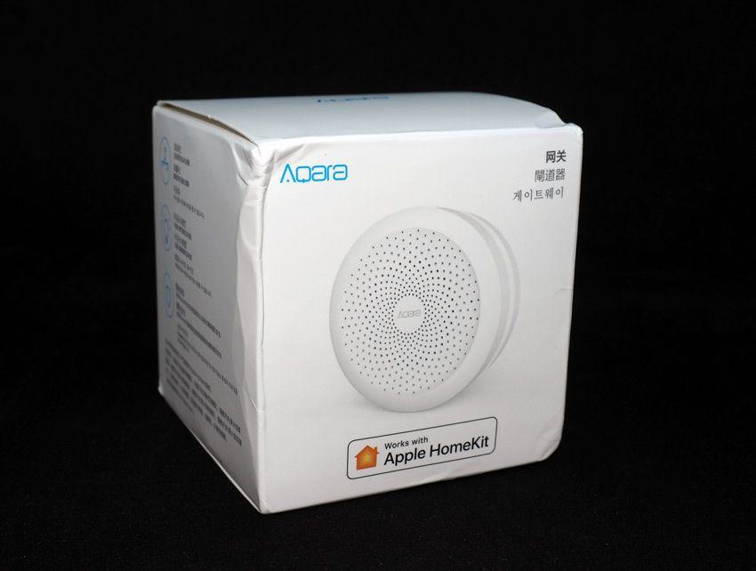 Упаковка шлюза Aqara Hub