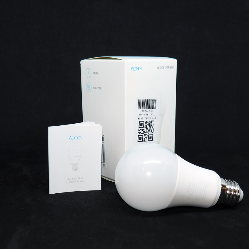 Лампочка Aqara для умного дома Apple