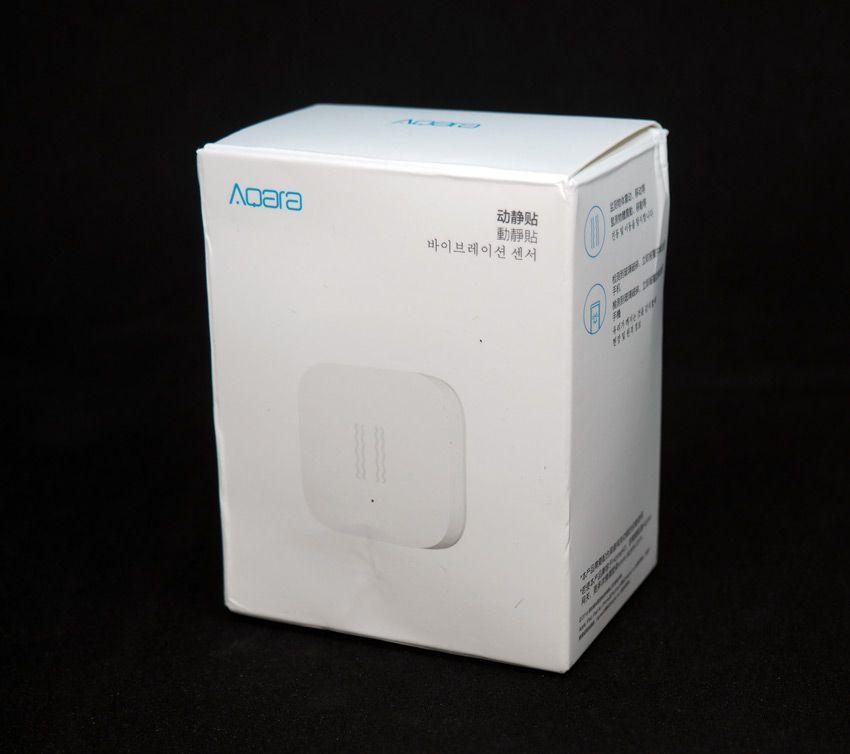 Коробка от датчика вибрации Xiaomi