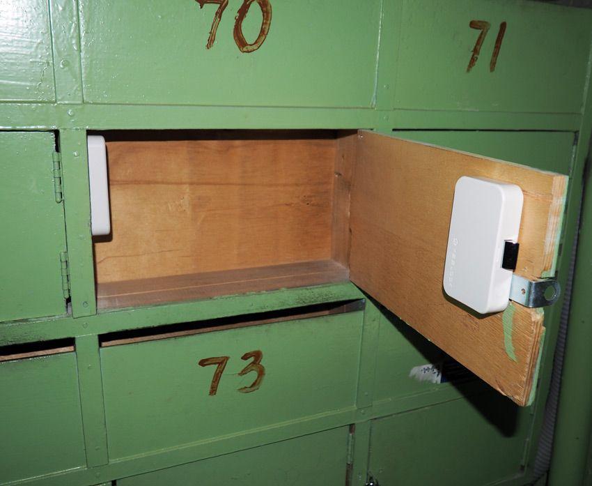 Установка на почтовый ящик