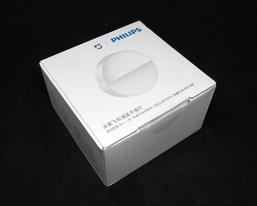 Коробка из-под ночника Xiaomi Philips